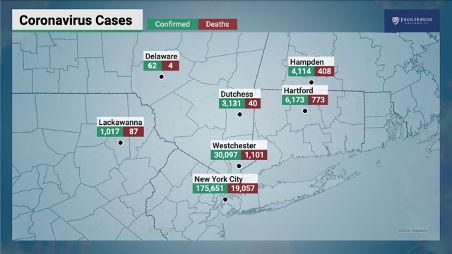 COVID-19 - Cases by County
