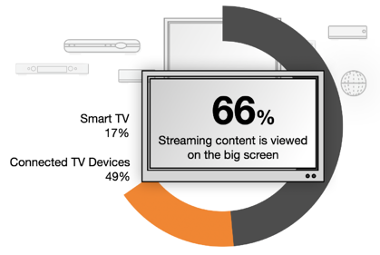 VOD Services - Majority of streamed content viewed on TV