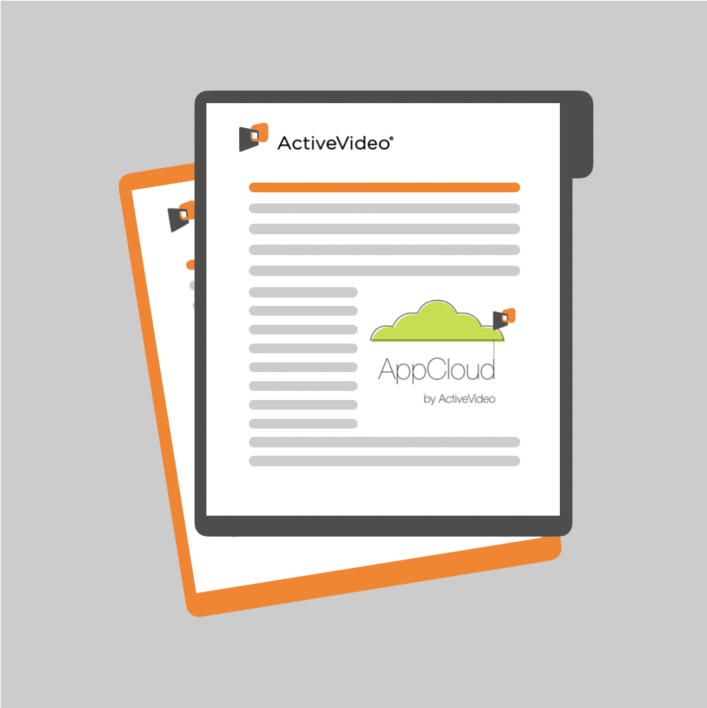 ActiveVideo AppCloud Document V3