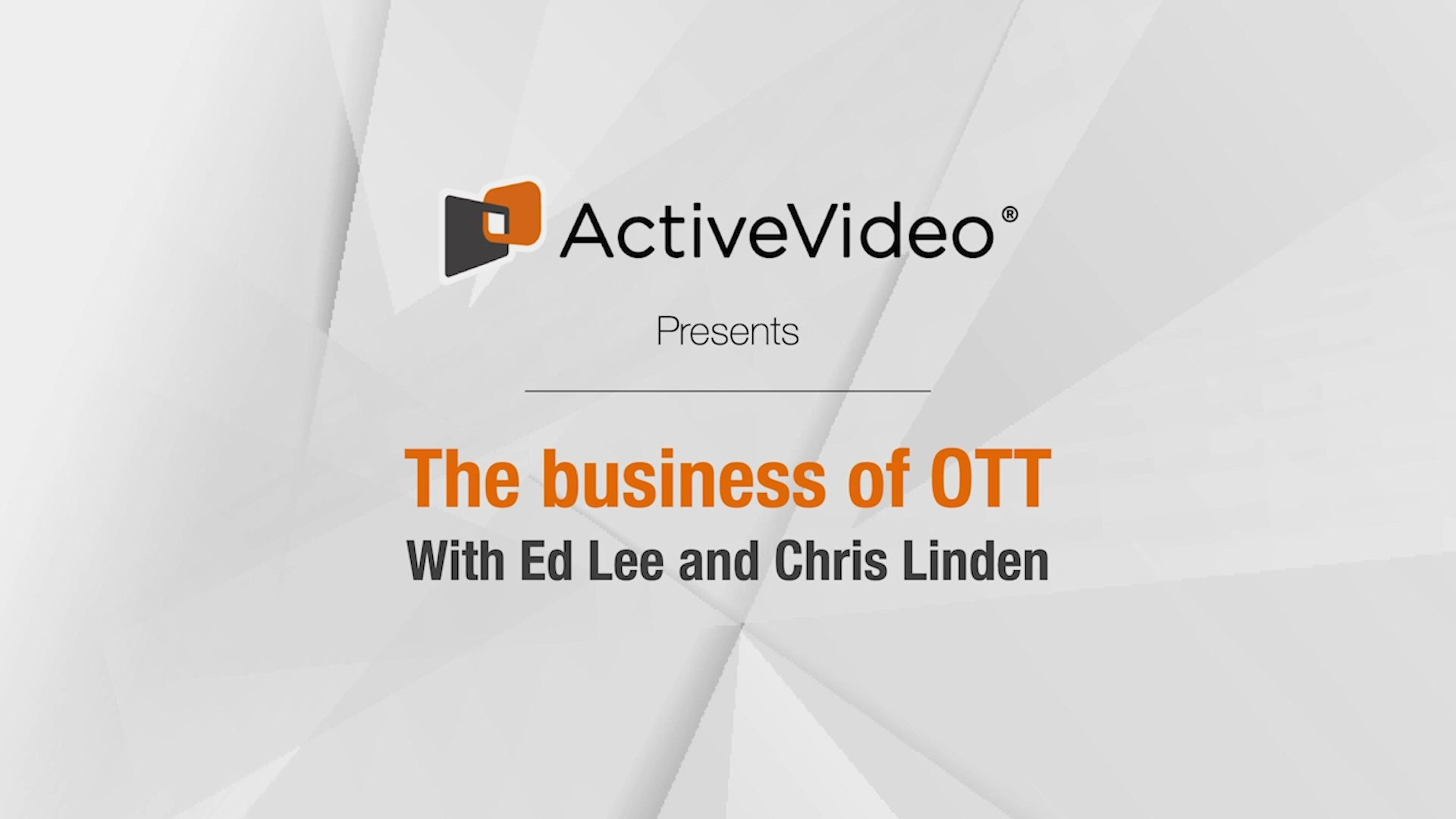 The Business of OTT - Part 1 - OTT Providers