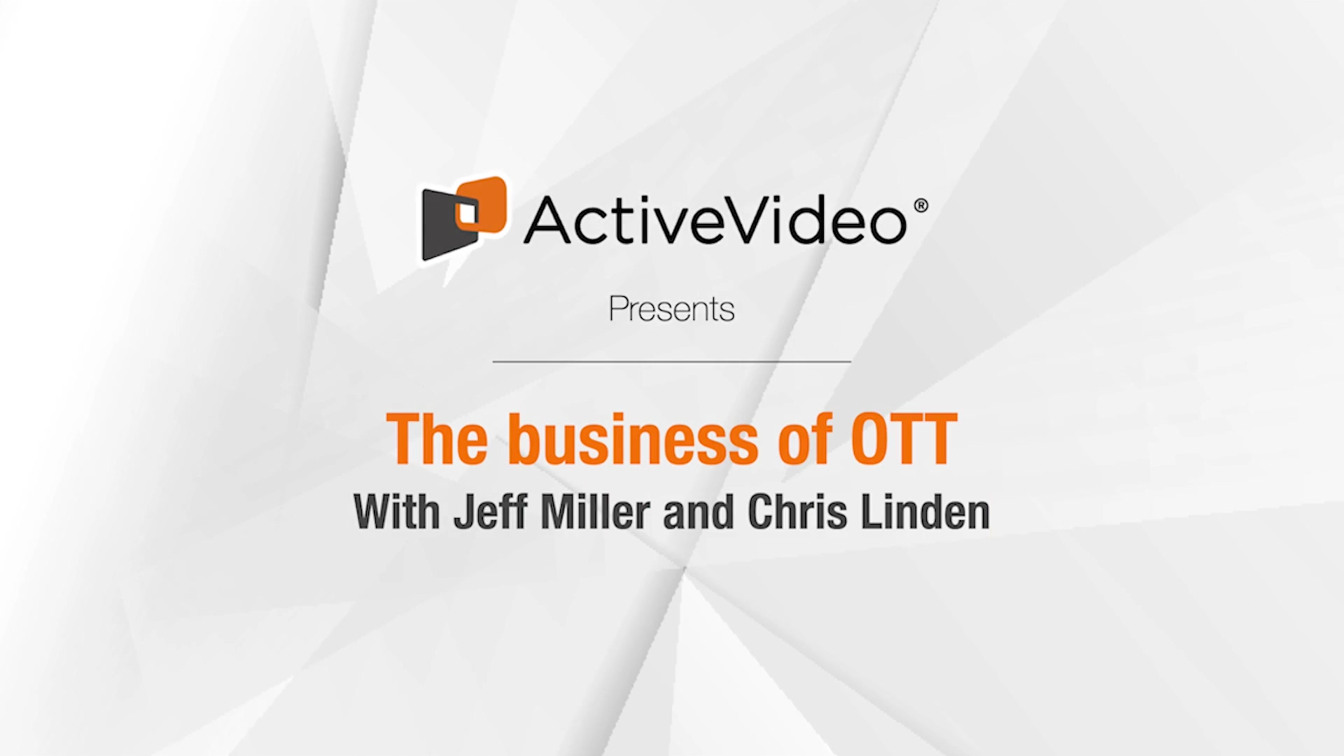2021 - the year of OTT service re-aggregation